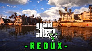 GTA V - REDUX Original - Core i7 7700K - GTX 1070 OC 8GB - Full HD