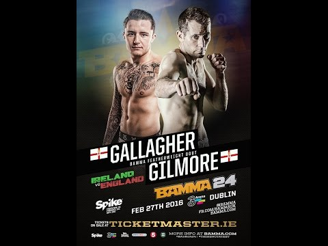 Gerard Gilmore vs James Gallagher - BAMMA 24