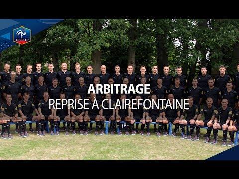 Arbitrage : Reprise à Clairefontaine