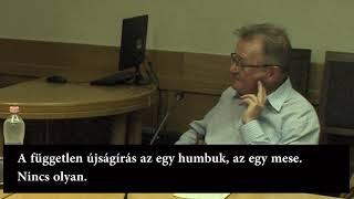 Ekler Humbuk Elemér Az újságírói Hitvallásáról...