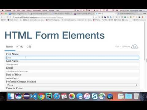 2.1 Reviewing Html And Css - Undergrad Webdev Summer 1 2017