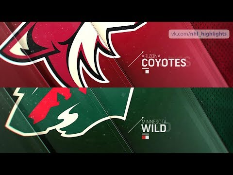 Arizona Coyotes vs Minnesota Wild Nov 27, 2018 HIGHLIGHTS HD