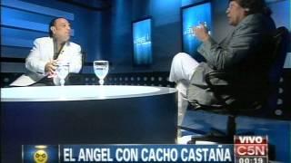 C5N - EL ANGEL DE LA MEDIANOCHE: ENTREVISTA A CACHO CASTAÑA (PARTE 1)