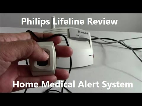 Medical Alert System >> Philips Lifeline Medical Alert Review - YouTube
