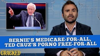 Bernie's Medicare-For-All, Ted Cruz's Porno Free-For-All - Some News