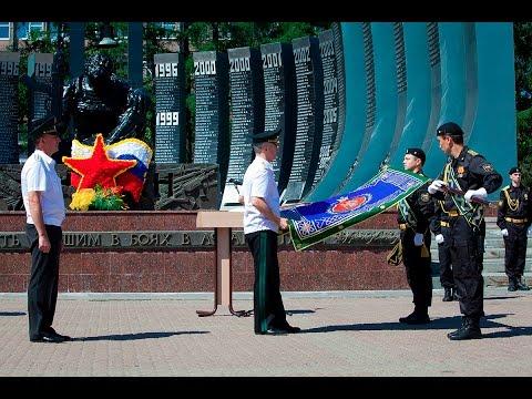 Церемония вручения знамени Управлению ФССП России по Свердловской области
