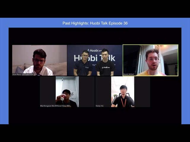 ECAF and EOS - What happened? EOS42 and EOS New York discuss on Huobi Talk