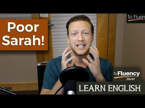 Poor Sarah | English Vocabulary about Relationships | TF Show