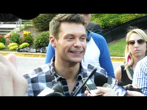 American Idol Auditions with Ryan Seacrest  live in North Charleston South Carolina
