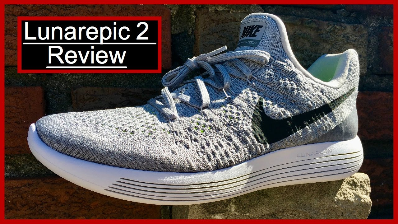 5ec29bc9a183 Nike Lunarepic Low Flyknit 2 Review - YouTube