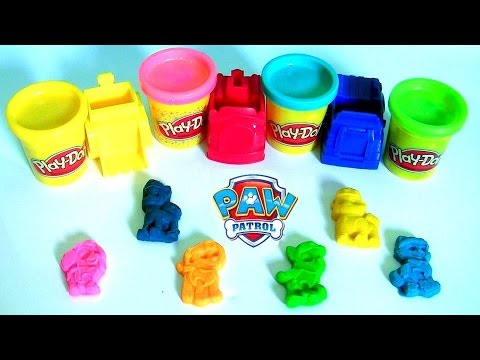 Play Doh Patrulha Canina Torre de Vigilancia e Resgate Playset | Paw Patrol To The Rescue Dough Set