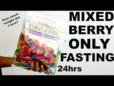 What Mixed Berry Smoothie Fasting ONLY For 1 Day Did To My BODY