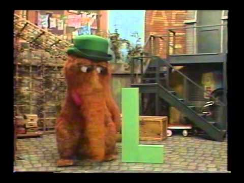 Sesame Street - Snuffy - L's The Leading Letter