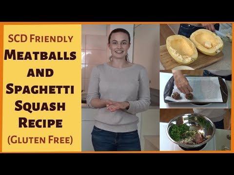 SCD/AIP MEATBALLS AND SPAGHETTI SQUASH- Easy Dinner For Autoimmune Diet (Gluten Free/Keto/Paleo)