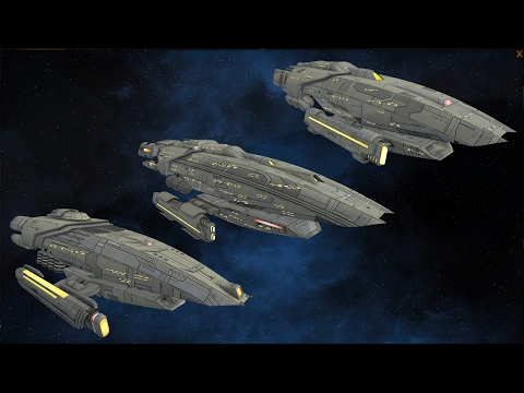 Star Trek Online - NEW Gorn Multi-Mission Science Vessels