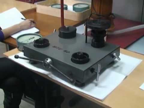 Поверка пружинного манометра лабораторная работа 1