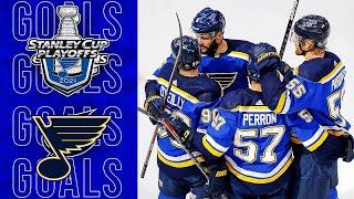 NHL - St. Louis Blues 2021 Playoff Goals