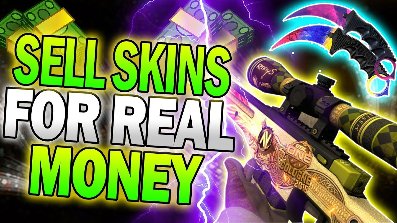 How To Sell Skins For Real Money! (CS:GO, Dota 2 & TF2 Skins)