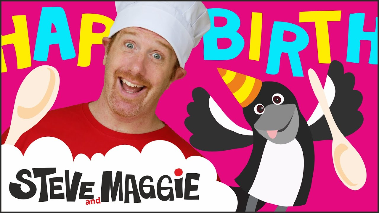 Chocolate Birthday Cake Story for Kids from Steve and Maggie | Wow English TV