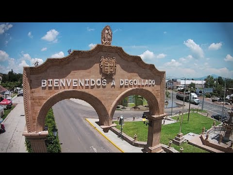 Degollado Jalisco México Vista Aérea 2015
