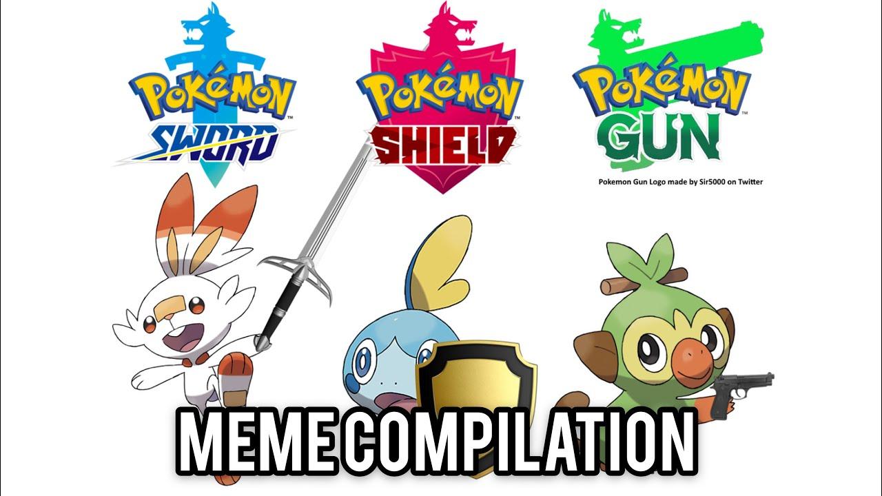 Pokemon Sword Shield Meme Compilation Youtube