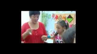 Кол өнөрчүлүк сабагы (Урок рукоделия) - Войлочные шарики