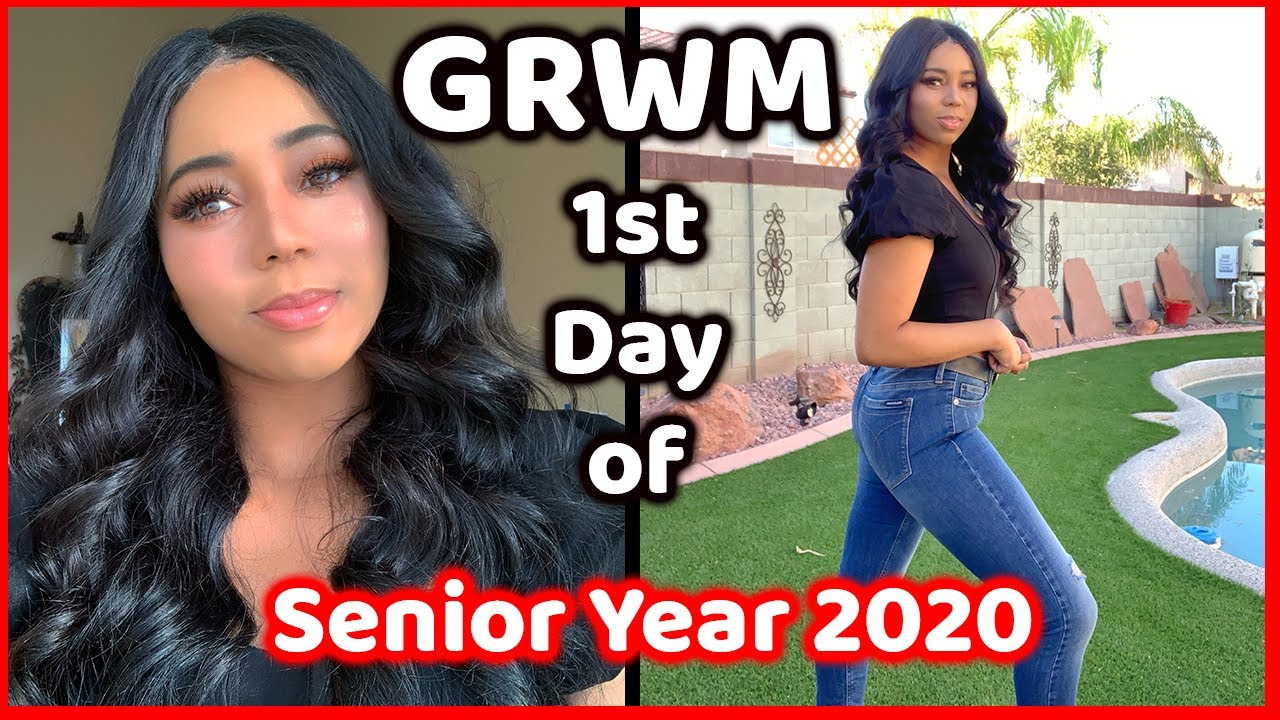 Grwm First Day Of School 2020 Senior Year Youtube It is a good opportunity to enjoy the last year as an undergraduate. grwm first day of school 2020 senior year
