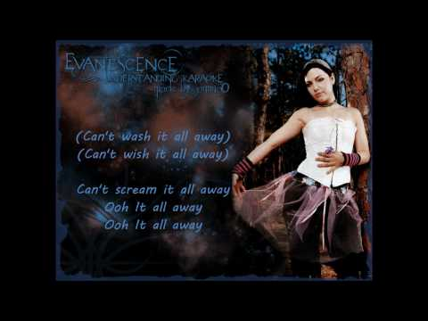 Evanescence - Understanding Karaoke With Lyrics (HD)