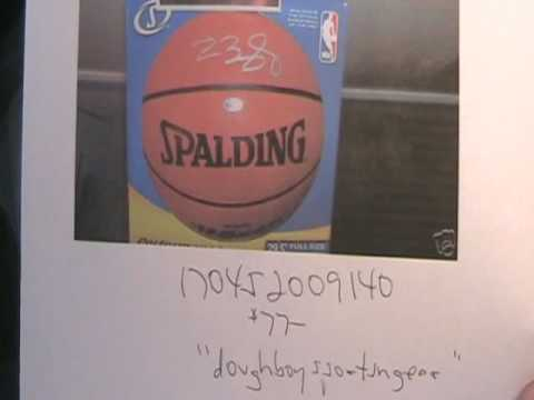 san francisco 75b01 24aa9 Fake Autographs Ebay LeBron James Kobe Bryant Jersey Signed Basketball