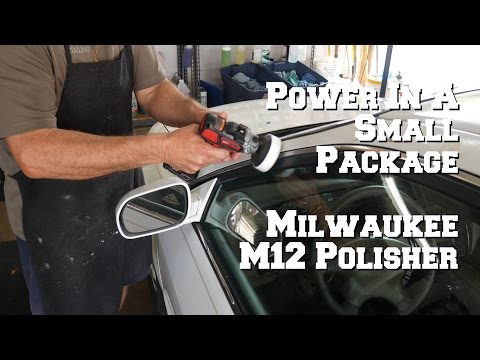 Milwaukee M12 Cordless Polisher Variable Speed