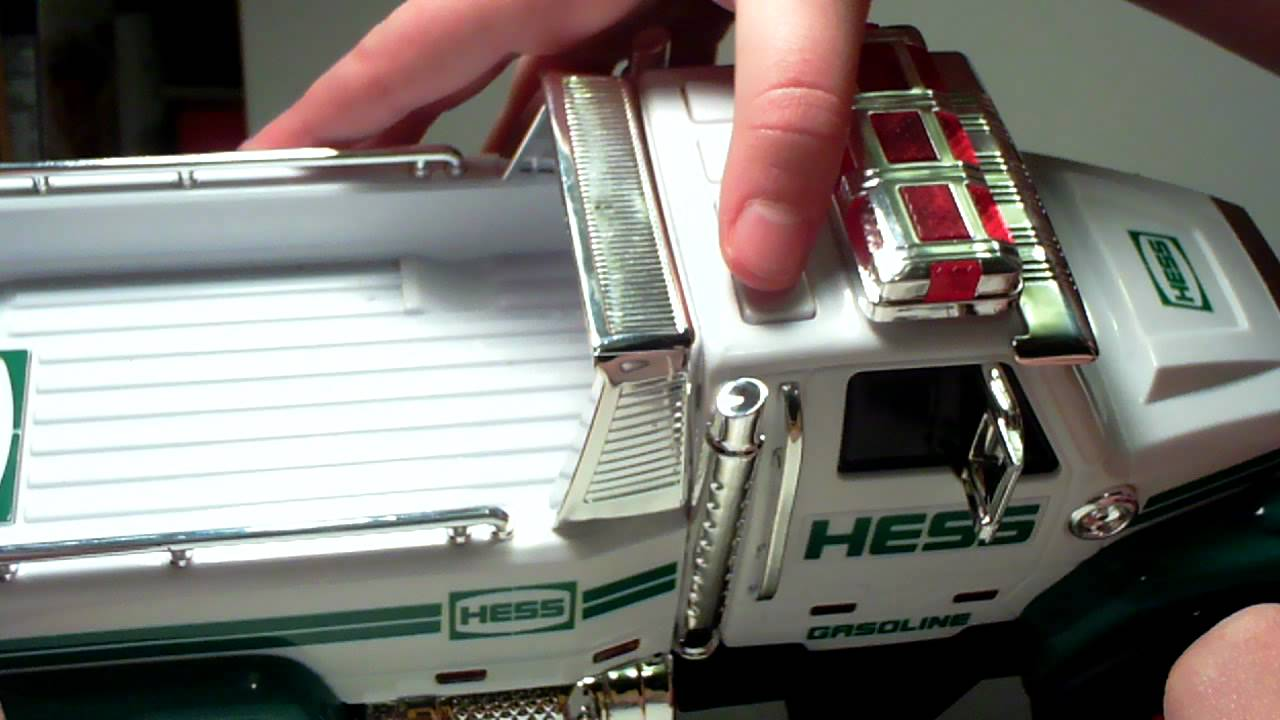 2011 Hess Toy Truck With Race Car Youtube