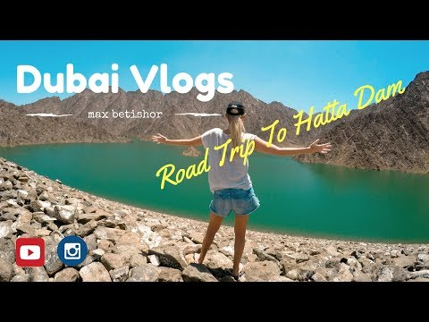 Dubai Vlogs viral Road Trip to Hatta Dam