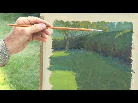 Landscape Painting Techniques  Plein Air  DVD with Ian Roberts