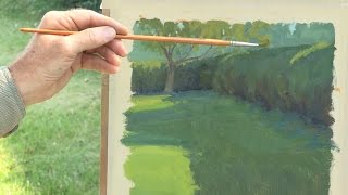 Landscape Painting Techniques - Plein Air - DVD with Ian Roberts