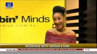 Interview With Adesua Etomi Pt.1