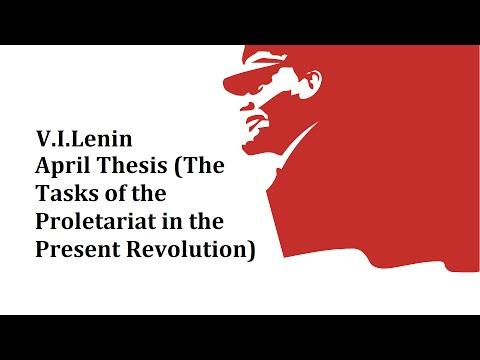 april thesis lenin