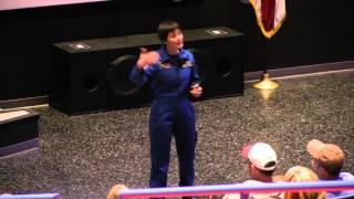 ESA Astronaut Samantha Cristoforetti Speaking at Space Camp