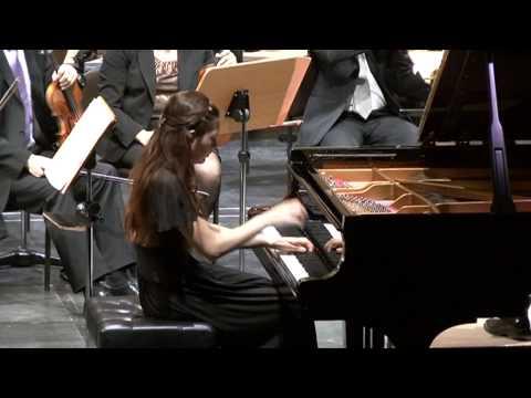 Ekaterina Litvintseva plays S. Rachmaninov Concerto no.1 op.1 fis-moll, 1st and 2nd parts