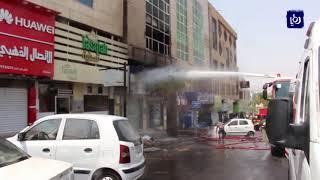لا إصابات في حريق شب بصيدلية ومستودع أدوية في محافظة العقبة - (31-8-2018)