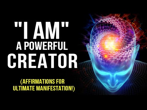 """""""l AM"""" A POWERFUL CREATOR! Positive Affirmations To Program Your Mind 