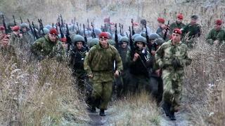 "Спецназ ""РОСИЧ"" Краповые береты марш 15км"