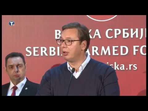 Vučić: Zaštita i odbrana naše zemlje - ništa važnije od toga ne postoji