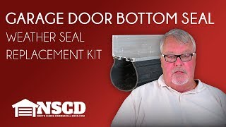 Garage Door Bottom Weather Seal Replacement Kit