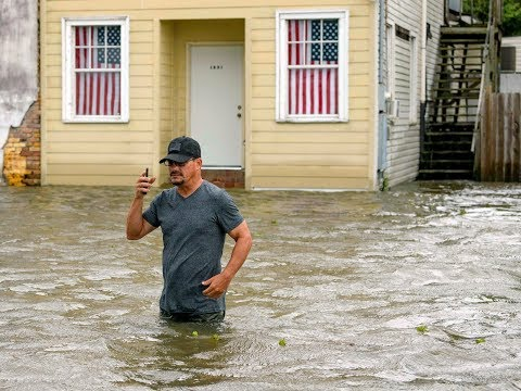 Storm Barry makes landfall on Louisiana coast