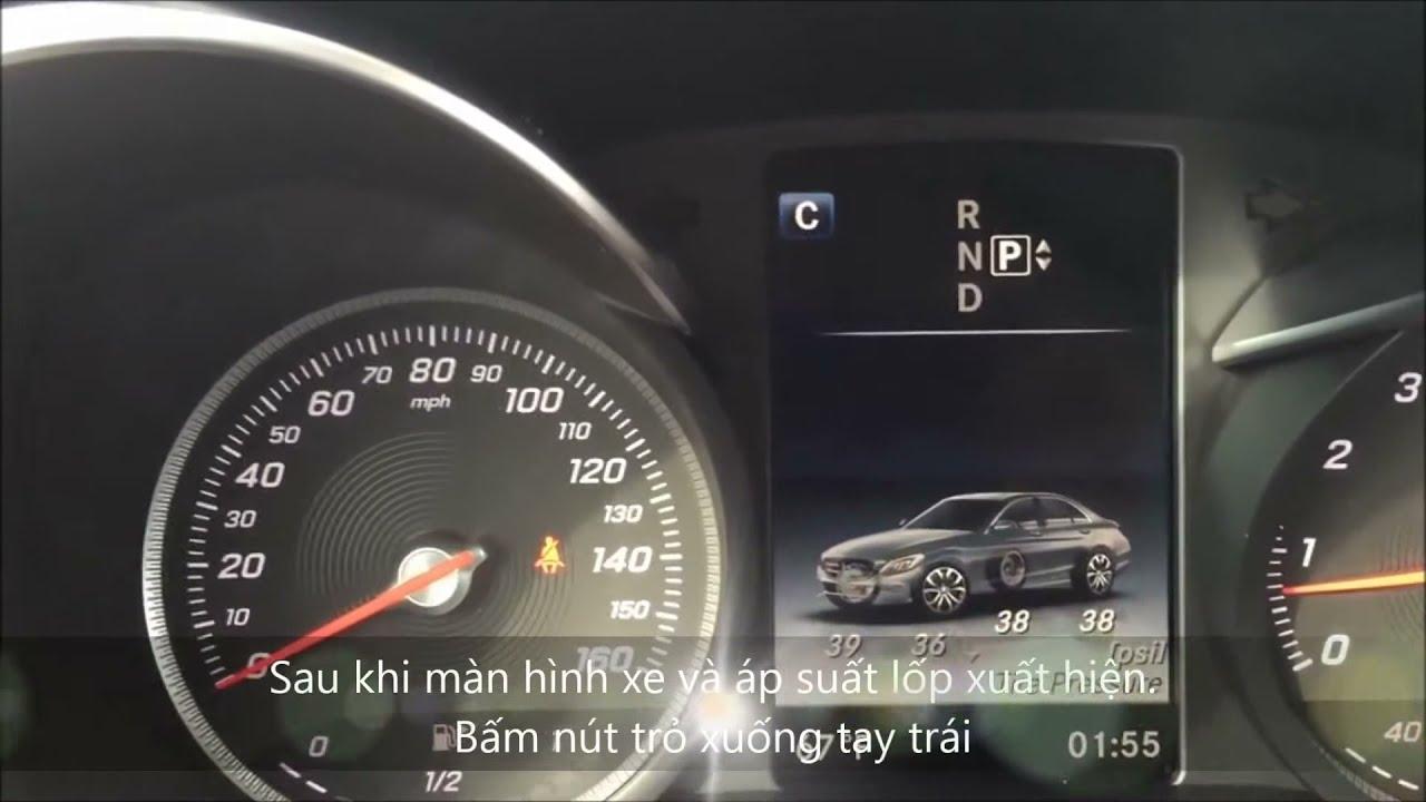 Run flat indicator mercedes