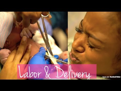LABOR & DELIVERY VLOG | ALL NATURAL