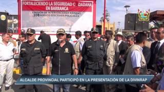 ALCALDE PROVINCIAL PARTICIPÓ EN LA PRESENTACIÓN DE LA DIVINRAP