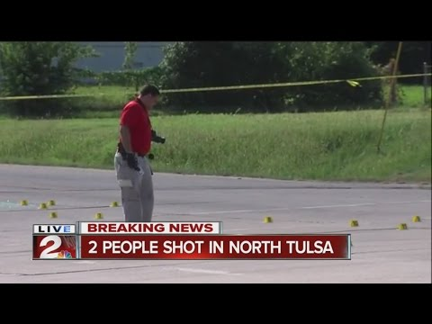 Breaking News: Two Shot In North Tulsa