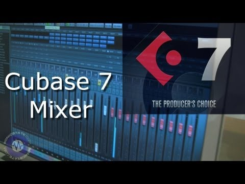 Cubase 7 Mixer Window - Music Production Show - London