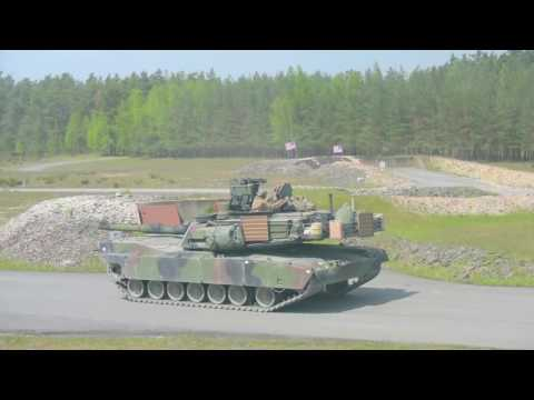 US 7th Army JMTC   Strong Europe Tank Challenge Day 1 1080p